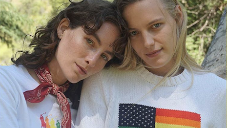 Erika and Heather Kemesky participate in Pride Month with the We Stand Together campaign. Image credit: Ralph Lauren