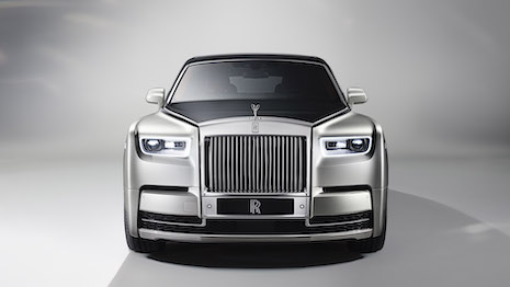 The majestic Rolls-Royce Phantom flagship. Image courtesy of Rolls-Royce Motor Cars
