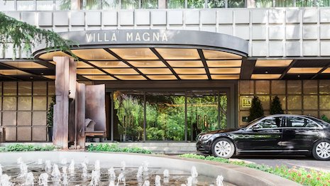 The Hotel Villa Magna in Madrid, Spain will debut in 2021 after an upgrade as Rosewood Villa Magna. Image credit: Rosewood Hotels & Resorts