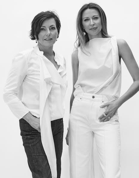 From left: Careste creative director Elizabeth Rickard Shah and founder/CEO Celeste Markey