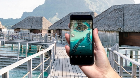 The Four Seasons app lets guests check in digitally. Image credit: Four Seasons