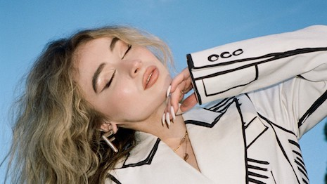 Netflix actress and singer Sabrina Carpenter will be Fendi's fambassador for its first official TikTok channel. Image courtesy of Fendi