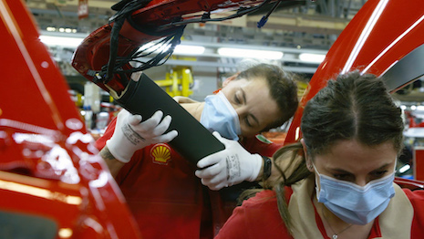 Women are paid the same as men in Ferrari for performing the same job. Image courtesy of Ferrari
