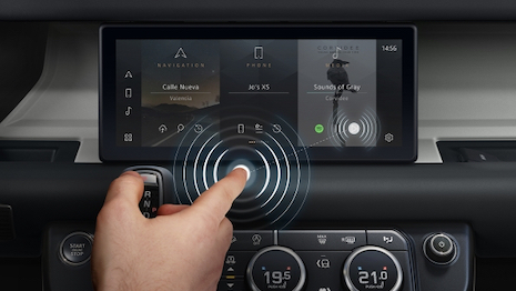 Jaguar Land Rover Contactless Touchscreen