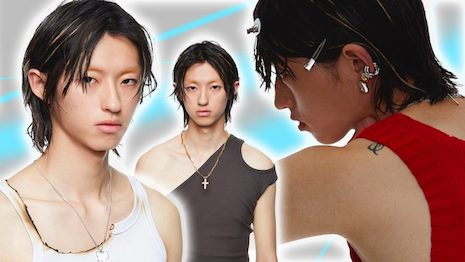 """Sporting feminine-looking jewelry has become more than a passing trend for Chinese Gen Z men, who are mirroring """"Fresh Young Meat"""" oppulent fashion styles. Image credit: Cough In Vain"""