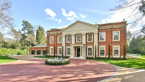 Six-bedroom house for sale in Old Avenue, St George's Hill, Weybridge, Surrey, KT13, price £9,995,000. Image credit: Knight Frank