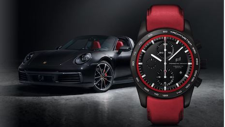 Porsche Design will let consumers customize their watches the way they customize Porsche cars, from trim to color and everything in between. Image courtesy of Porsche Design