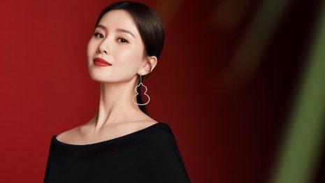 Liu Shishi is the new brand ambassador of Qeelin. Image credit: Qeelin, Kering