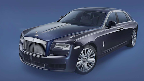 The new Rolls-Royce Ghost debuting this fall (not this model shown here) will have the latest air-filtration technology to ensure in-cabin air quality. Image credit: Rolls-Royce Motor Cars