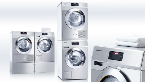 Miele laundry appliances are in high demand as consumers renovate their homes. Image courtesy of Miele