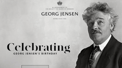 Georg Jensen is celebrating founder's birthday with special offer. Image credit: Georg Jensen