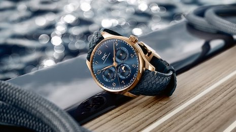 Swiss watchmaker IWC Schaffhausen July 15 joined Tmall to tap the platform's reach with Chinese consumers looking to buy luxury goods online and via mobile. Image credit: IWC Schaffhausen