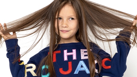 The Marc Jacobs looks are now available for children. Image credit: Marc Jacobs