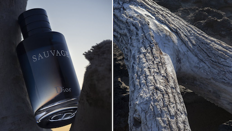 """Dior's Sauvage fragrance aims to evoke the """"Scent of Summer."""" Image credit: Dior"""