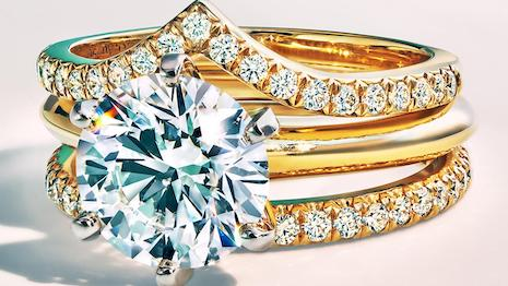 The Tiffany Setting with sustainably sourced diamonds. Image credit: Tiffany & Co.