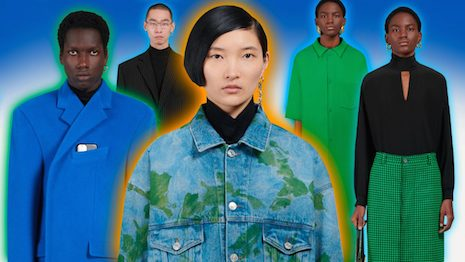 A growing counterculture within China's younger generations is increasingly pushing back against unreasonable work hours, which has led many to seek early retirement. Image credit: Balenciaga, Haitong Zheng