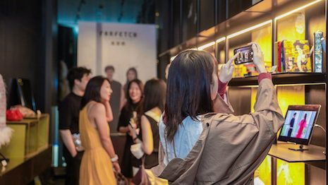 As China quickly bounced back from the stressful public health situation, Farfetch has decided to work with its partner, Swire Properties, to encourage consumers to go out again. Image credit: Farfetch