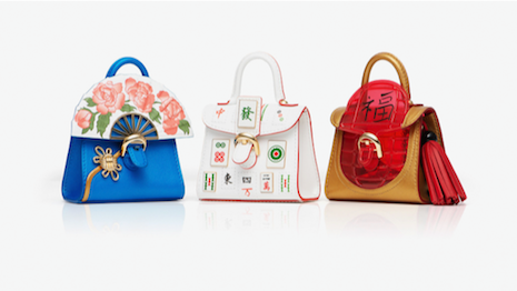 "Delvaux launched its ""Les Miniatures China Dream"" collection last month. Image credit: Delvaux.cn"