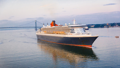 The Queen Mary 2 is the lead ship in the Cunard portfolio, which also includes the Queen Victoria and Queen Elizabeth. Image credit: Cunard