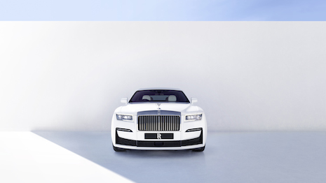 The new Rolls-Royce Ghost. Image courtesy of Rolls-Royce Motor Cars