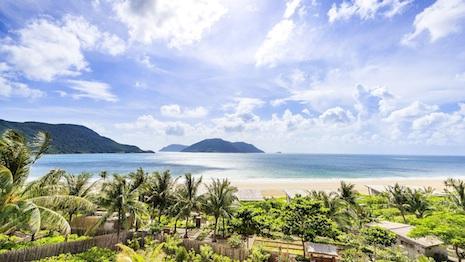 Morning vista from the Six Senses Con Dao hotel in Vietnam. Image credit: Six Senses