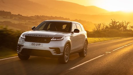 The new Range Rover Velar Plug-in Hybrid. Image credit: Land Rover