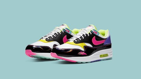 "The Air Max 1 ""Hyper Pink."" Image credit: Nike"