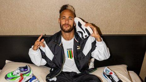 Neymar Jr. fronting Puma. Image credit: Puma