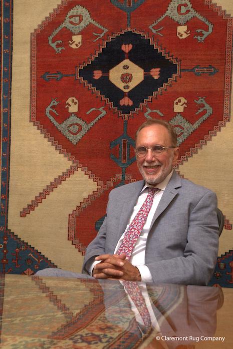 Jan David Winitz with the Dragon Bakshaish