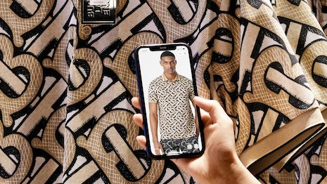 By November 11, over 138,000 visitors experienced Burberry's new social retail store, according to numbers from the brand's Mini-Program. Image credit: Burberry
