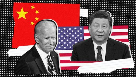 It is expected that U.S. President Biden will select a more measured style when dealing with China. How will this new approach affect luxury brands? Image credit: Shutterstock, The New York Times. Composite: Haitong Zheng