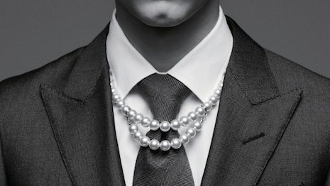While China is the largest global producer of cultured pearls, convincing its vast millennial market to wear them has been another story. Image courtesy of Mikimoto