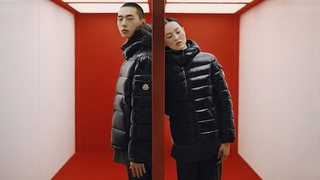 The luxury puffer jacket maker reported revenues of 1.4 billion euros in 2020 and and 675.3 million euros in Q4, beating analyst expectations. Image credit: Leslie Zhang/Moncler