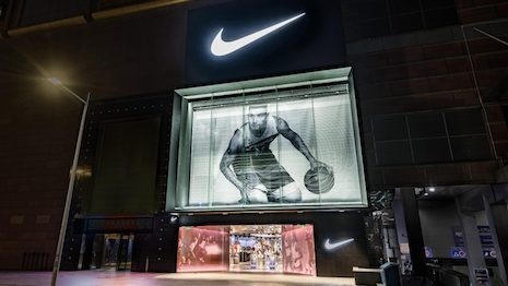 It is being predicted that one in every four purchases will be made online by 2024, when ecommerce sales will hit $3.9 trillion. Image courtesy of Nike