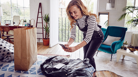 The rapid growth of ecommerce for fashion and apparel purchases brings with it issues such as counterfeiting and return fraud that damage the brand's reputation long term. Image credit: Avery Dennison