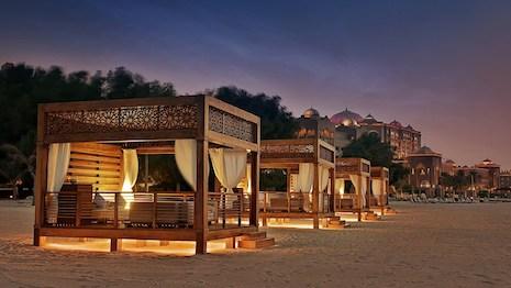 Shake things up. Image credit: Emirates Palace, Abu Dhabi