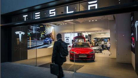 Tesla has attracted praise and favorable attention from fans and the government in the past, but is it headed for a fall in China? Image credit: Shutterstock