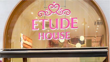 Amorepacific's affordable beauty brand Etude House is closing shop in China, showing retailers just how competitive the country's beauty market can be. Image credit: Shutterstock