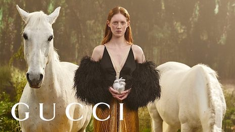 There are not many examples of luxury brands being proverbial phoenixes, but Gucci has most new luxury attributes to make it back big this year. Image courtesy of Gucci