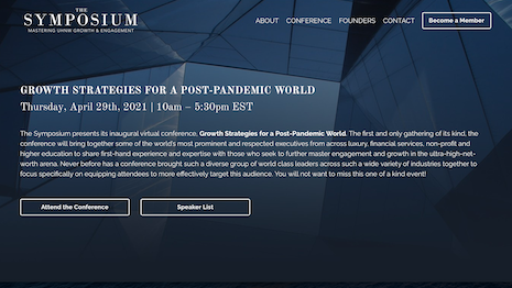 The Symposium will discuss strategies for UHNW in the post-pandemic environment
