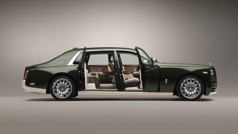 Rarely do two highly influential luxury brands unite to create something truly outstanding, but Rolls-Royce and Hermès have done just that. Image courtesy of Rolls-Royce