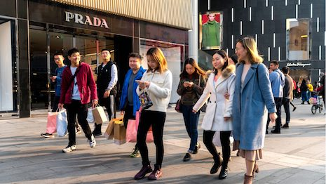 Luxury brands have been primarily focused on High Net Worth Individuals (HNWI), but are they missing out on other important segments in China? Image credit: Shutterstock