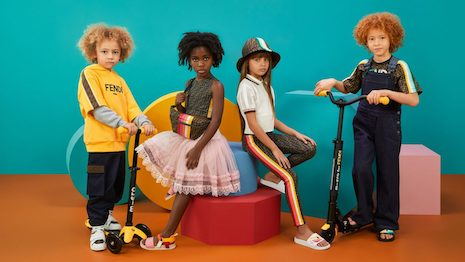 Can luxury turn the heads of China's millennial parents, or is it down to local brands to dress their little princes and princesses? Image courtesy of Fendi