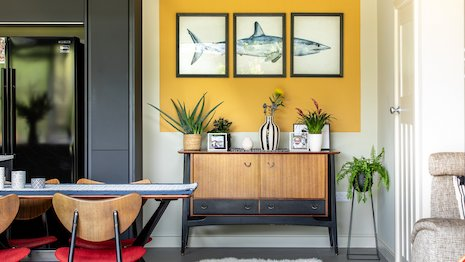 A home transformed by Farrow & Ball paint. Image credit: Farrow & Ball