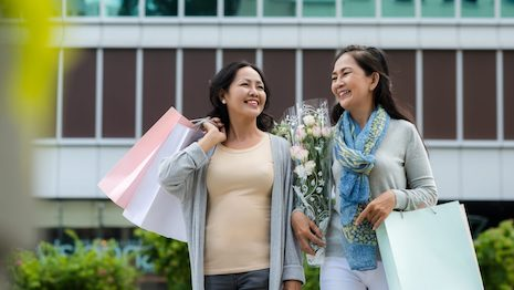The luxury market in China skews steeply towards younger demographics. But brands may be vastly underestimating the buying potential of China's seniors. Image credit: Shutterstock