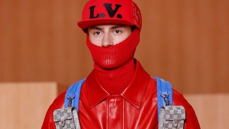 Kuaishou gained significantly more luxury cred by streaming Louis Vuitton's spring/summer 2022 menswear collection. Image courtesy of Louis Vuitton