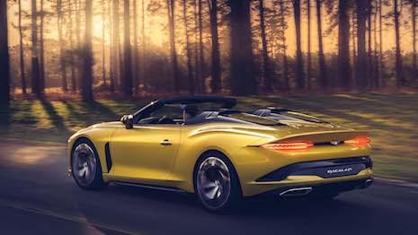 Bentley Motors is one of several luxury brands featured in the Luxury Women to Watch 2022 honor. Seen here: the pre-production Bentley Bacalar. Image credit: Bentley Motors