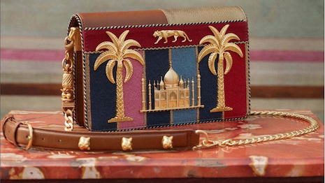 Indian luxury brands such as Sabyasachi have benefited from the growth of a wealthy class even as the COVID-19 pandemic is ongoing. Seen: Sabyasachi's new Tropical Sling bag. Image credit: Sabyasachi